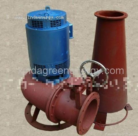 DVolute Axial Flow micro hydro Turbine Generator (15KW-30KW)