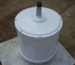 2Kw 50rpm low speed Vertical Permanent Magnet Generator for vertical wind turbine