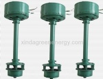 Low water head axial small water power turbine(600w-3kw)