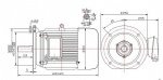 100kw 10000rpm high speed brushless PM sychronous motor
