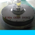 2kw 180rpm axial flux permanent magnet generator for hydro turbine
