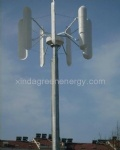 Vertical wind turbine power system(0.3kw-10kw)